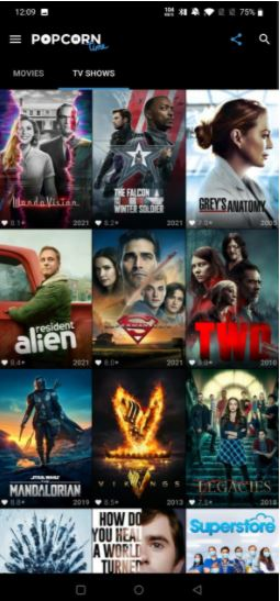 What is Popcorn Time Mod Apk